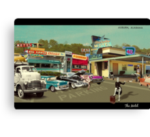 The Motel Canvas Print