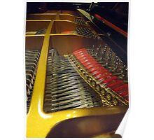 Piano Interior Poster