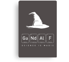 Gandalf's Magical Science Canvas Print