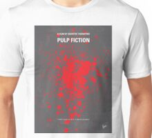 No067 My Pulp Fiction minimal movie poster Unisex T-Shirt