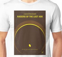 No068 My Raiders of the Lost Ark minimal movie poster Unisex T-Shirt