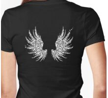 Bird Wings Womens Fitted T-Shirt