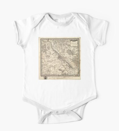 Plan of Warsaw - 1783 One Piece - Short Sleeve