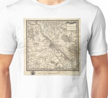 Plan of Warsaw - 1783 Unisex T-Shirt