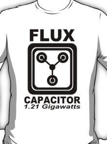Flux Capacitor Cool Electric 1.2 Gigawatt Shirt T-Shirt