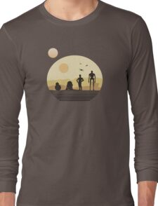 Star Wars Droids on Tatooine Long Sleeve T-Shirt