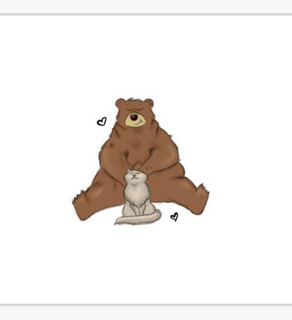 Unbearable Love Sticker