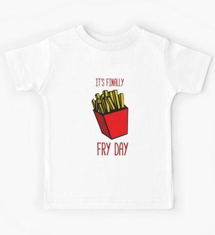 It's finally FRY DAY Kids Tee