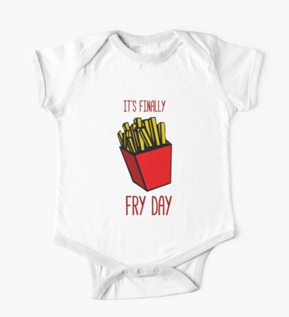 It's finally FRY DAY One Piece - Short Sleeve