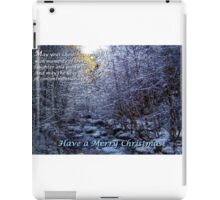 Have A Merry Christmas #26 iPad Case/Skin