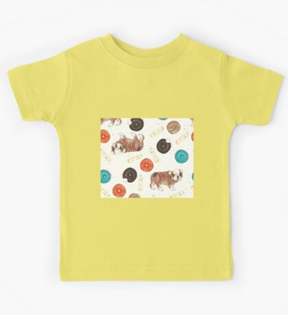 Bulldogs and donuts Kids Tee