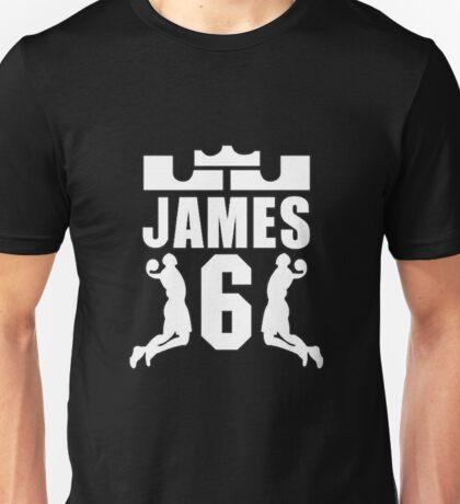 LEBRON JAMES 6 Unisex T-Shirt