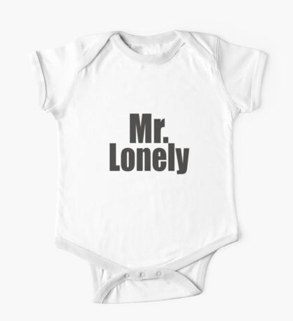 Mr Lonely One Piece - Short Sleeve