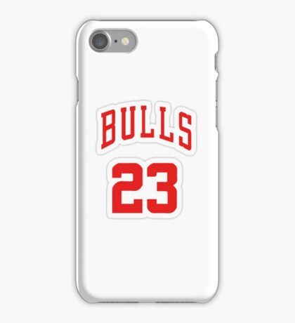 BULLS 23 iPhone Case/Skin