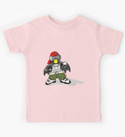 Hip Hipster Penguin Kids Tee