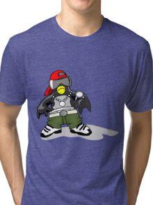 Hip Hipster Penguin Tri-blend T-Shirt