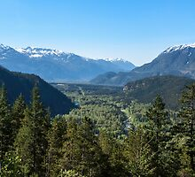 View from the Tantalus Lookout by DPalmer
