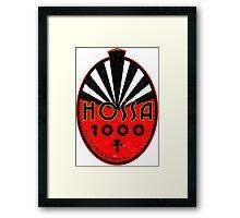 Hossa 1000 Framed Print