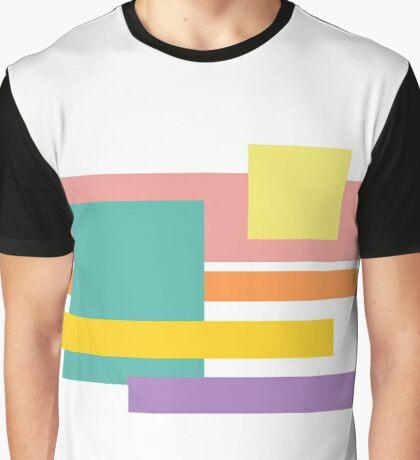 80's Colors Graphic T-Shirt