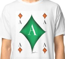 Lucky Ace of Diamonds by Tony Fernandes Classic T-Shirt