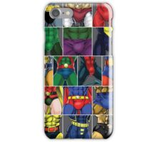 Superhero ABC Groins! iPhone Case/Skin