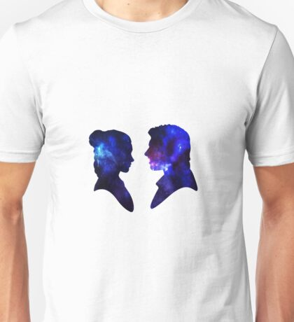 Love Story - Han and Leia Unisex T-Shirt