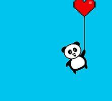 Up the panda goes by jaxxx