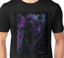 USGS TOPO Map California CA Chico 297082 1949 62500 geo Inverted Unisex T-Shirt