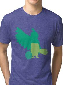 Rowlet evolutions Tri-blend T-Shirt