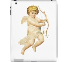 Angel with bow iPad Case/Skin