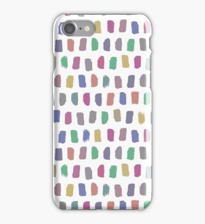 Bright brushstrokes iPhone Case/Skin
