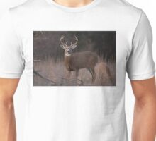 White-tailed deer buck with huge neck in autumn rut Unisex T-Shirt