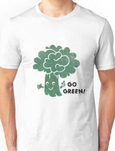 Broccoli - Go Green! Unisex T-Shirt