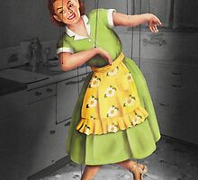 Kitty Dances in the Kitchen by Barbee Teasley