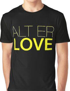 Alt  er love  Graphic T-Shirt
