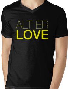 Alt  er love  Mens V-Neck T-Shirt
