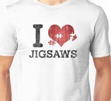 I Love Jigsaws - Heart Puzzle Unisex T-Shirt