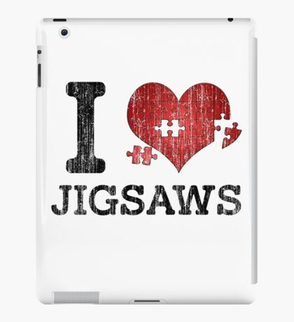 I Love Jigsaws - Heart Puzzle iPad Case/Skin
