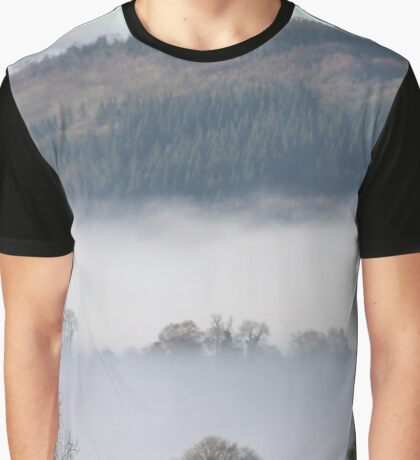 Morning mist after rainy night Graphic T-Shirt