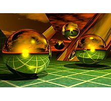 Noble Metal Worlds Photographic Print