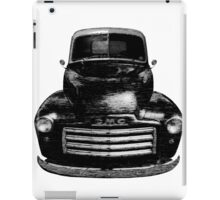 1949 GMC Truck Front End iPad Case/Skin