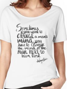 To Change a Mind Women's Relaxed Fit T-Shirt