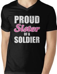 Proud Sister Of a Soldier Mens V-Neck T-Shirt