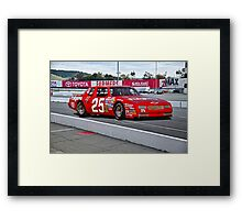 Early NASCAR Chevrolet Framed Print