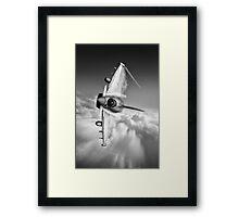 Typhoon Knife Edge Framed Print