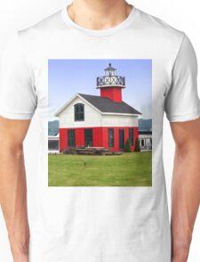 Little Lighthouse, Saugatuck, Douglas, Michigan, Unisex T-Shirt