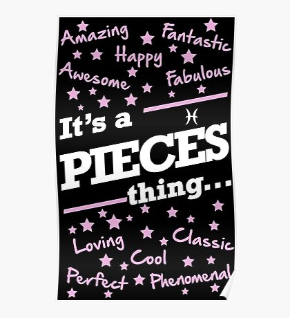 IT'S A PIECES THING Poster