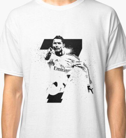 Ronaldo black Classic T-Shirt