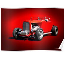 1932 Ford 'Dry Lakes' Roadster Poster