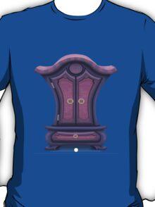 Glitch bag furniture cabinet violet voyage cabinet T-Shirt